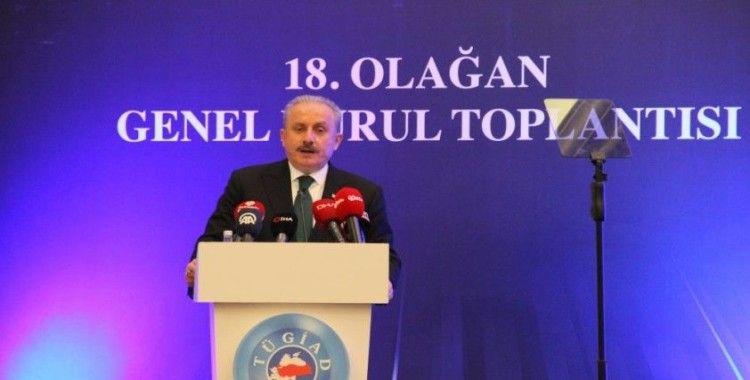 TBMM Başkanı Mustafa Şentop: 'Salgında Türkiye dünyadaki müstesna birkaç ülkeden biri oldu'
