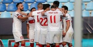Türkiye, Dünya Kupası elemeleri üçüncü maçında Letonya karşısında