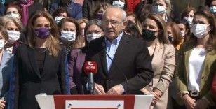 Kılıçdaroğlu: Kadınlar Cumhuriyet tarihinin en önemli eylemlerini gerçekleştiriyor