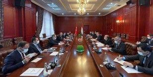 Bakan Çavuşoğlu: Tacikistan'ın bölgesel projelerde yer almasını güçlü şekilde destekliyoruz