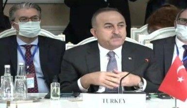 Bakan Çavuşoğlu, Afganistan'daki barış süreci, önemli bir dönüm noktasına ulaştı