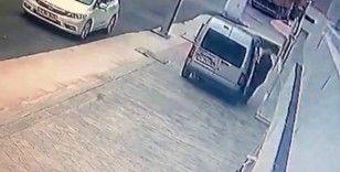 Pendik'te otomobil hırsızlığı kamerada