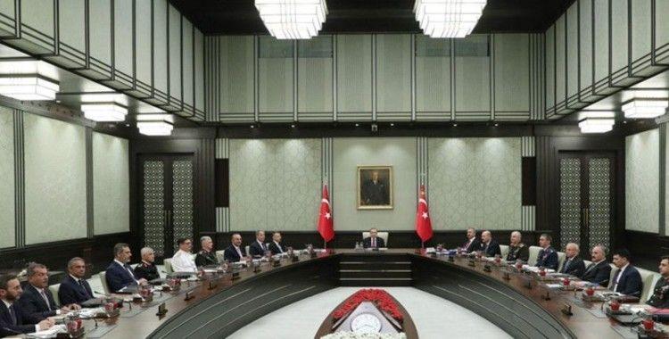 MGK, Cumhurbaşkanlığı Külliyesi'nde toplandı