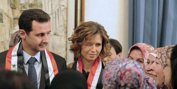 Suriye Devlet Başkanlığı: Esad çiftinin PCR testi negatife döndü