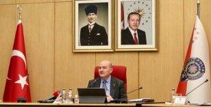 İçişleri Bakanı Soylu, AKPM Başkanı Rik Daema ile bir araya geldi