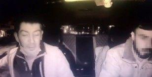 200 bin lira çalan hırsızı, maske takmadan bindiği taksinin kamerası yakalattı
