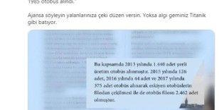 """Osman Nuri Kabaktepe'den Ekrem İmamoğlu'na yanıt: """"Algı geminiz Titanik gibi batıyor"""""""