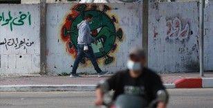 Kovid-19 salgınında vaka sayısının hızla arttığı Gazze'de halk endişeli