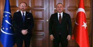 Dışişleri Bakanı Çavuşoğlu, Avrupa Konseyi Parlamenter Meclisi Başkanı Daems ile görüştü