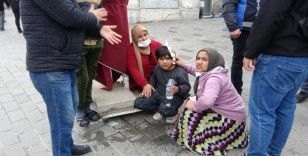İstiklal Caddesi'nde çocuğa köpek saldırdı