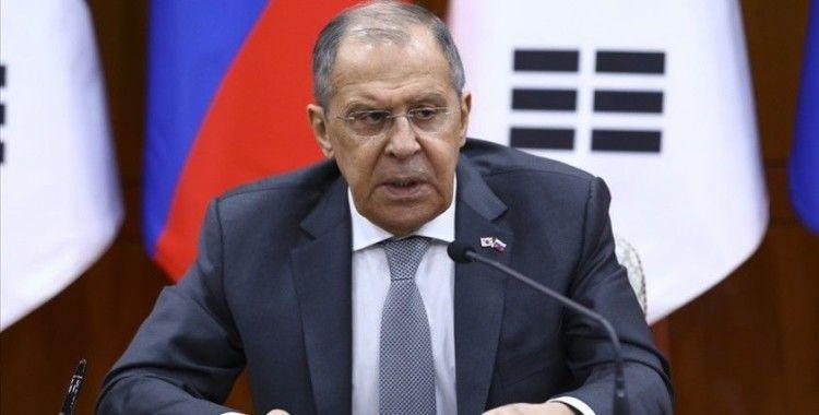 Rusya Dışişleri Bakanı Lavrov: Türkiye ile ilişkilere değer veriyoruz