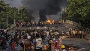 Myanmar'da darbe karşıtı protestolarda 1 günde 56 can kaybı