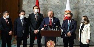 TBMM Başkanı Şentop: Güvenlik soruşturması kanun teklifine ilişkin karar Başkanlık tezkeresiyle açıklanacak