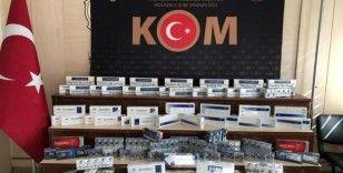 Gaziantep'te kaçak bin 323 paket kaçak sigara ele geçirildi