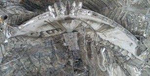 Yusufeli Barajı'nın son hali paylaşıldı: Tamamlandığında 100 katlı gökdelen yüksekliğine ulaşacak
