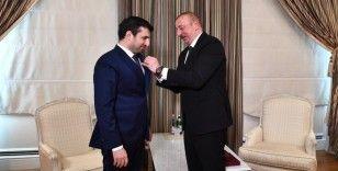Selçuk Bayraktar ve Haluk Bayraktar'a Karabağ nişanı