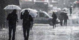 Meteoroloji'den yağmur, fırtına ve kar yağışı uyarısı