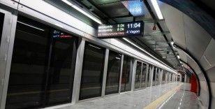 Mecidiyeköy-Mahmutbey metro hattında seferler normale döndü