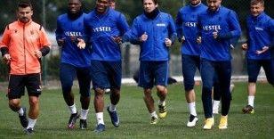 Trabzonspor, Sivasspor maçı hazırlıklarını tamamlayarak Sivas'a gitti