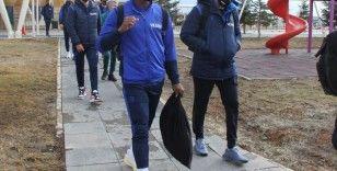 Trabzonspor kafilesi Sivas'a geldi