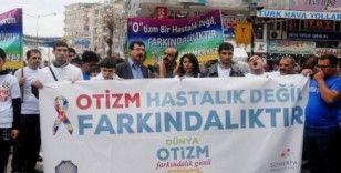 Diyarbakır'da Dünya Otizm Farkındalık Günü yürüyüşü yapıldı