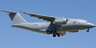 ABD Hava Kuvvetlerine ait askeri nakliye uçağı Kiev'e indi