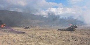 MSB: Azerbaycan ordusu personelinin Isparta'daki komando temel eğitimleri devam ediyor
