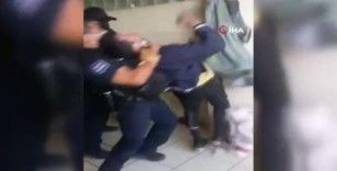 Meksika'da polis şiddeti: Gözaltına almak istediği adamın boğazını sıktı