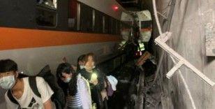Tayvan'daki tren kazasında hayatını kaybedenlerin sayısı 41'e yükseldi