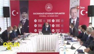 İçişleri Bakanı Soylu, Sultangazi Güvenlik Toplantısına katıldı