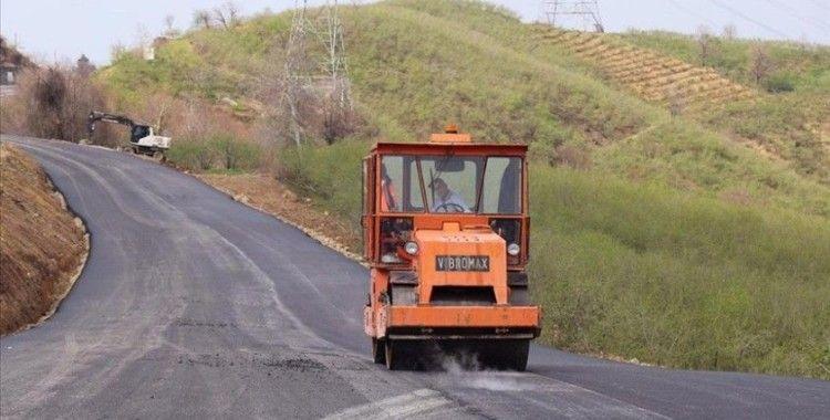 Çöken Batı Karadeniz bağlantı yolunda alternatif yol yarın ulaşıma açılacak