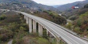 Karadeniz-Akdeniz yolu projenin %98'i tamamlandı