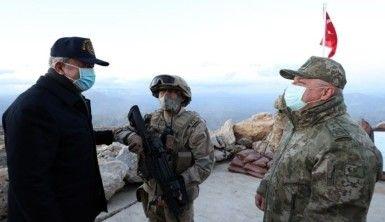 Akar, Namaz Dağı'nda terörle mücadele tedbirlerini inceledi