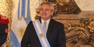 Arjantin Devlet Başkanı Alberto Fernandez Kovid-19'a yakalandı
