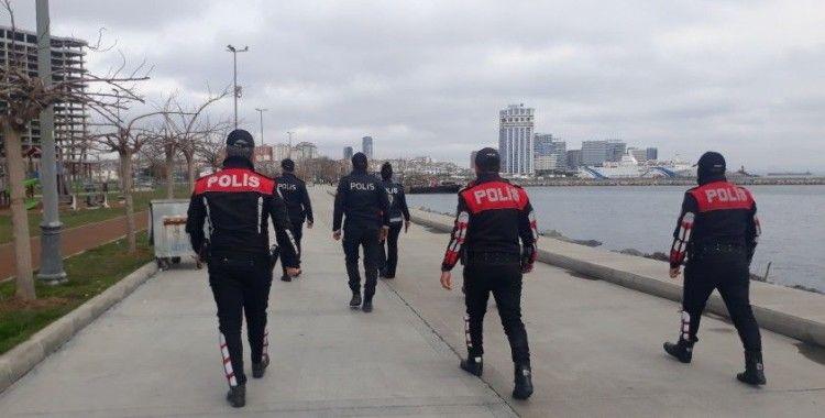 Bakırköy sahilinde ekipler denetim gerçekleştirdi
