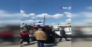 Rejim kontrolündeki bölgelerde yakıt krizi
