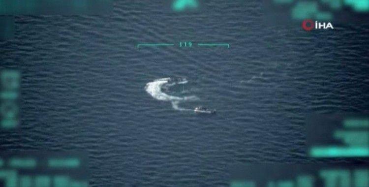 Düzensiz göçmenlere Sahil Güvenlik Komutanlığı yardım eli uzattı