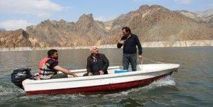 Ayvalı Barajında balık üretimi başladı