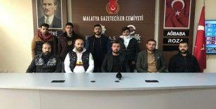 Yeni Malatyaspor taraftarlarından takıma tepki