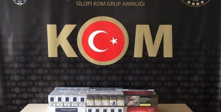 Şırnak'ta kaçakçılık ve uyuşturucu operasyonu: 26 gözaltı