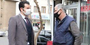 Murat Beşikci, esnafla bir araya geldi