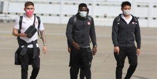 Sivasspor, Antalya'ya ulaştı