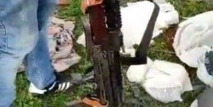 Şanlıurfa'da toprak altında ve ahırda uzun namlulu silahlar ele geçirildi