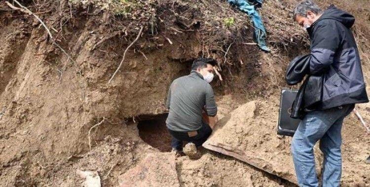 Devrek'te Roma dönemine ait mezar bulundu