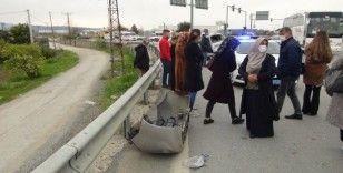 Tarım işçilerini taşıyan araç otobüsle çarpıştı: 6 yaralı