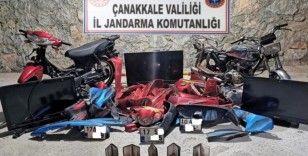 Çanakkale'de motosiklet hırsızlığı: 2 gözaltı