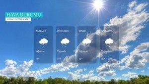 Yarın kara ve denizlerimizde hava nasıl olacak?8 Nisan 2021 Perşembe