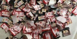 Sivas'ta bin 180 adet sigara bandrolü ele geçirildi