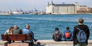 Marmara Bölgesi'nde sıcaklıkların mevsim normallerinin 4 ila 6 derece üzerinde olması bekleniyor