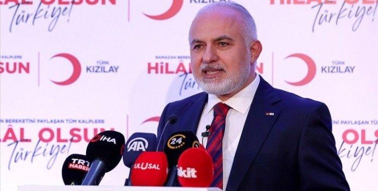 Türk Kızılay Genel Başkanı Kerem Kınık, ramazanda yapılacak yardımları anlattı